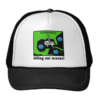 oil spill gulf of mexico trucker hat