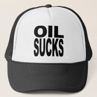 Oil Sucks Trucker Hat