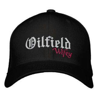 Oilfield Embroidered Hat