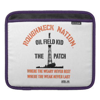 OILFIELD KID The Patch iPad Sleeve