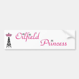 Oilfield Princess bumper sticker