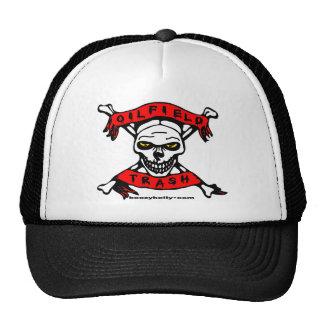 Oilfield Trash Skull Design Hat