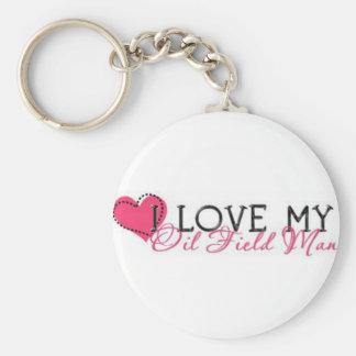Oilfield Wife Key Ring