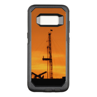 Oilfield Workover Service Rig, Orange Sky Sunset OtterBox Commuter Samsung Galaxy S8 Case