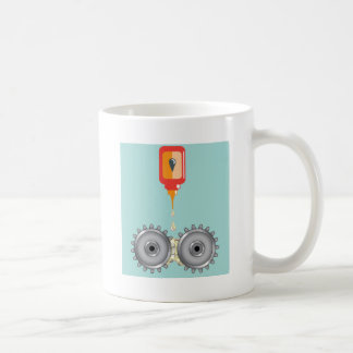 Oiling Gears Vector Coffee Mug