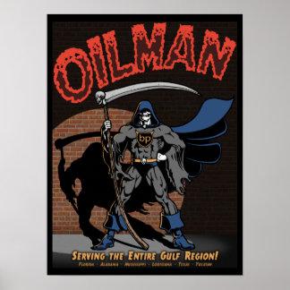 Oilman Print