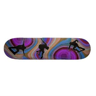 Oilslick Skateboard.. 20 Cm Skateboard Deck