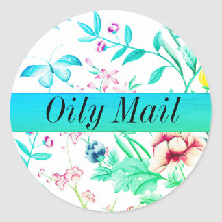 Oily Mail essential oils envelope seal matte