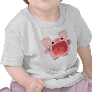 """""""OINK!!!"""" Cute Cartoon Pig Baby T-shirt"""