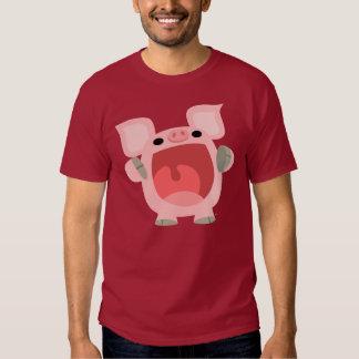 """""""OINK!!!"""" Cute Cartoon Pig T-shirt"""
