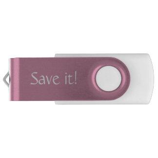 Oink flashdrive swivel USB 3.0 flash drive
