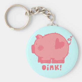 oink key chain