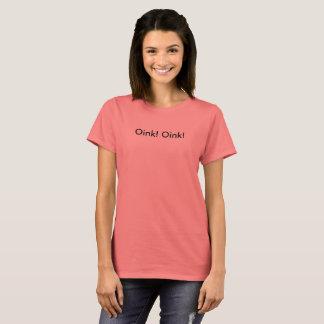 Oink! Oink basic T-shirt