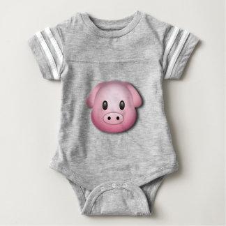 Oink Oink Cute Pig Baby Bodysuit