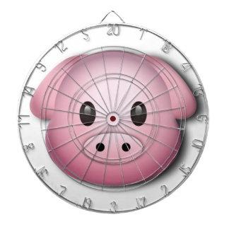 Oink Oink Cute Pig Dartboard