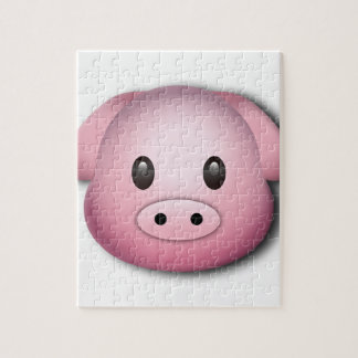 Oink Oink Cute Pig Jigsaw Puzzle