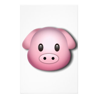 Oink Oink Cute Pig Stationery