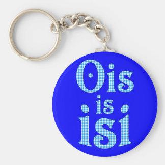 Ois Is Isi Bavarian Bavarian bavarian Bavaria Key Ring