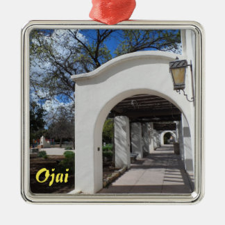 Ojai, California Metal Ornament