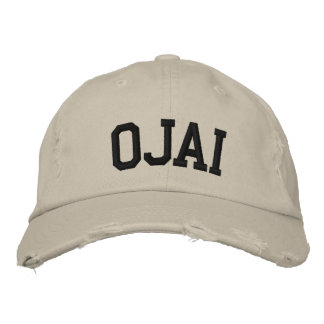 Ojai Embroidered Hat