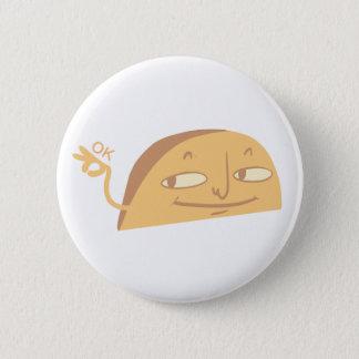 Ok 6 Cm Round Badge