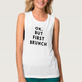 Ok, but first brunch tee
