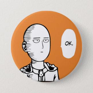 ok go 7.5 cm round badge