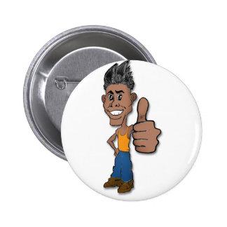 OK Guy 6 Cm Round Badge