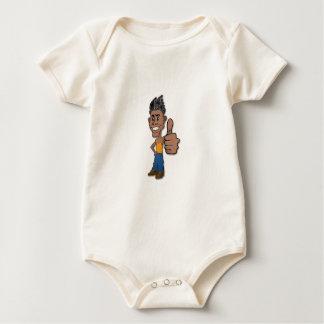 OK Guy Baby Bodysuit