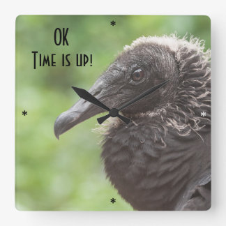 OK  time is up Wall Clock