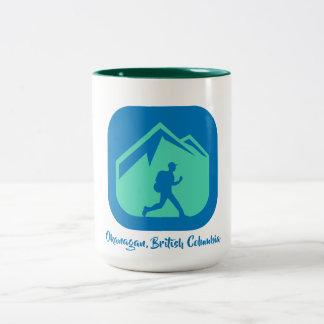 Okanagan, British Columbia coffee mug