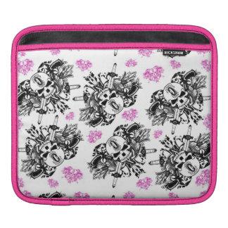 O'Kane Logo iPad Case (Black & Pink)