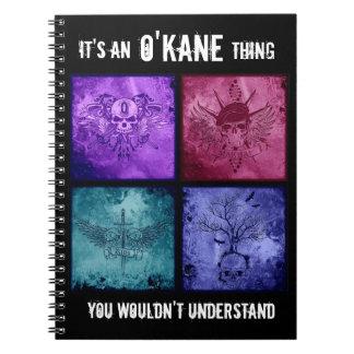 O'Kane Thing Notebook - All Logos