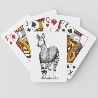 Okapi Art Playing Cards