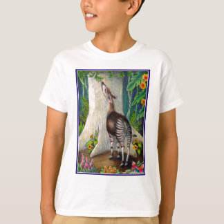 Okapi in the Rainforest T-Shirt
