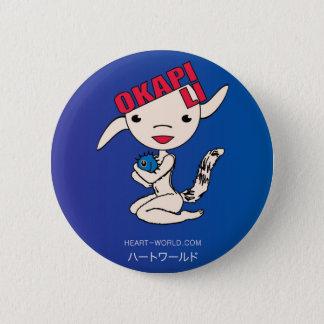 Okapi Li 6 Cm Round Badge