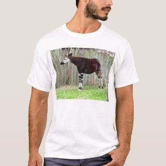 Okapi standing by fence T-Shirt