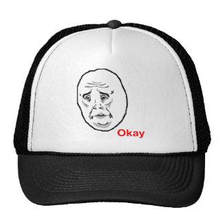 Okay Face Guy Cap