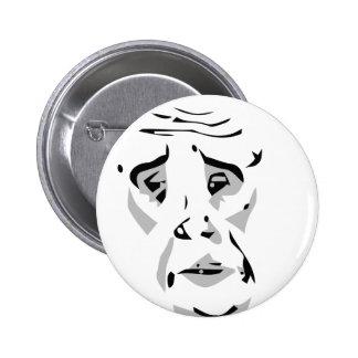okay web comic face meme 6 cm round badge