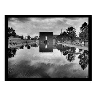 OKC Memorial Reflections Postcard