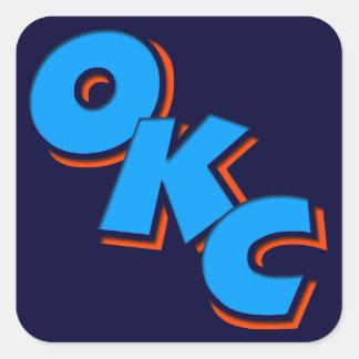 OKC SQUARE STICKER