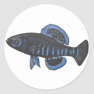 Okefenokee pygmy sunfish Sticker