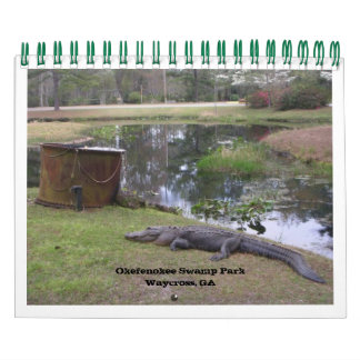 """OKEFENOKEE SWAMP PARK"" WALL CALENDARS"