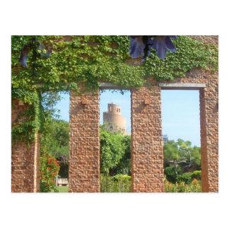 Okinawa Spiral Castle- postcard
