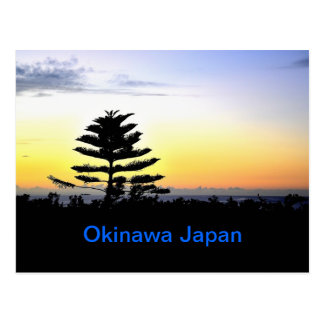 Okinawa Sunset Postcard