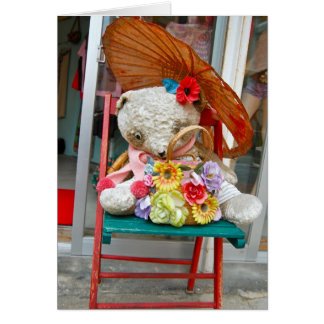 Okinawa Teddy Card