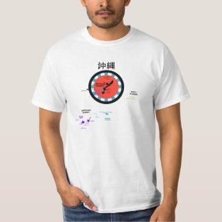 Okinawan Islands Map T-Shirt