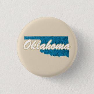 Oklahoma 3 Cm Round Badge