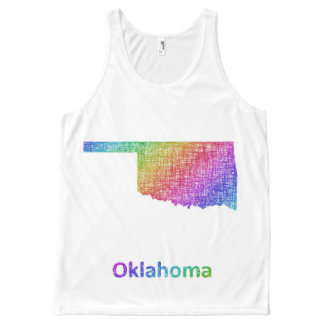 Oklahoma All-Over Print Singlet