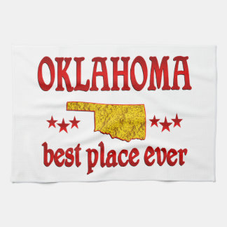 Oklahoma Best Tea Towel